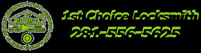 1st Choice Locksmith Houston Logo